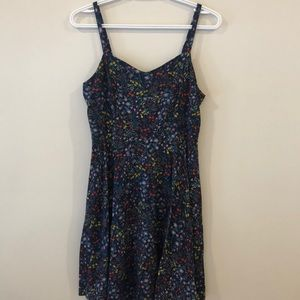 Old Navy Floral Fit and Flare Cami Dress